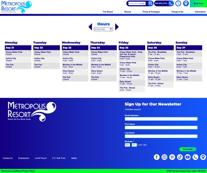 Metropolis Resort Screenshots