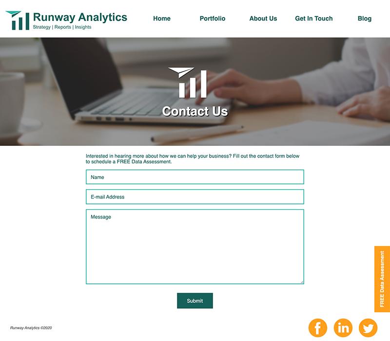 Runway Analytics Screenshots