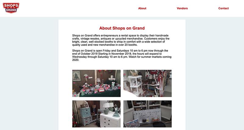 Shops on Grand Desktop